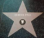 Walk of Fame Star Denver Pyle