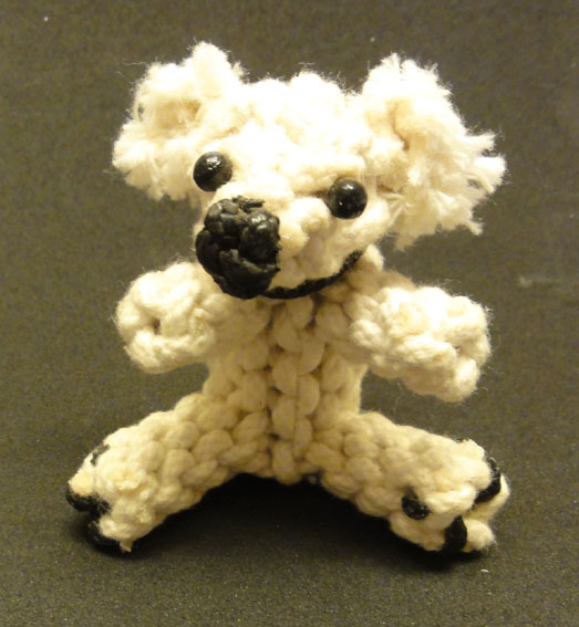knotted animal bear